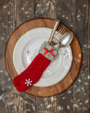 Μαχαιροπήρουνα Χριστουγέννων Στοκ φωτογραφία με δικαίωμα ελεύθερης χρήσης