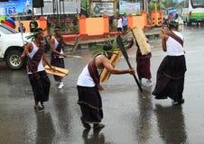 Μαχητές από Rote - Nusa Tengara Timur στοκ φωτογραφίες