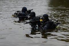 Μαχητές κατάρτισης στη Μόσχα Στοκ φωτογραφίες με δικαίωμα ελεύθερης χρήσης