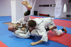 Μαχητές τζούντου Στοκ φωτογραφία με δικαίωμα ελεύθερης χρήσης