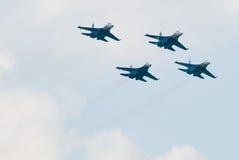 μαχητής αέρα στρατιωτικός Στοκ Εικόνες