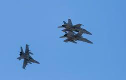 Μαχητικά αεροσκάφη Στοκ Φωτογραφίες
