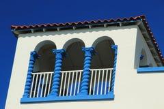 Μαϊάμι Μπιτς - ιστορική περιοχή του Art Deco Στοκ Εικόνα