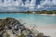 Μαϊάμι Μπιτς Μπαρμπάντος Καραϊβικές Θάλασσες Στοκ Φωτογραφία
