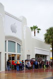 Μαϊάμι Μπιτς της Apple Store Στοκ φωτογραφία με δικαίωμα ελεύθερης χρήσης