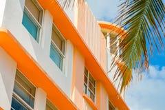 Μαϊάμι Μπιτς Art Deco στοκ φωτογραφία με δικαίωμα ελεύθερης χρήσης