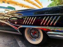 ΜΑΪΑΜΙ ΟΚΤΩΒΡΙΟΣ - 2018: Συνάθροιση μηχανών των παλαιών αυτοκινήτων στοκ εικόνες με δικαίωμα ελεύθερης χρήσης