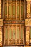 ΜΑΪΑΜΙ, ΦΛΩΡΙΔΑ - 29 ΑΠΡΙΛΊΟΥ 2015: Αετώματα κοραλλιών του Μαϊάμι ξενοδοχείων Biltmore ceiling στοκ φωτογραφίες με δικαίωμα ελεύθερης χρήσης