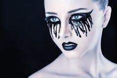 Μαύρα δάκρυα στοκ φωτογραφία
