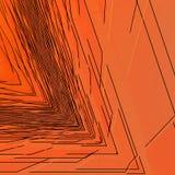 Μαύρα αιχμηρά τρίγωνα Στοκ Εικόνες
