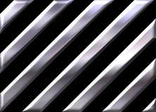 μαύρα ασημένια λωρίδες ανασκόπησης ελεύθερη απεικόνιση δικαιώματος