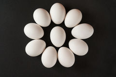 μαύρα αυγά ανασκόπησης Στοκ εικόνες με δικαίωμα ελεύθερης χρήσης