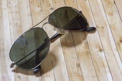 μαύρα γυαλιά ηλίου Στοκ Φωτογραφίες