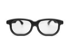 μαύρα γυαλιά πλαισίων Στοκ Εικόνα
