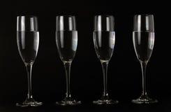 μαύρα γυαλιά Στοκ Εικόνες