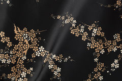 Μαύρα κινεζικά σύσταση και υπόβαθρο Στοκ Φωτογραφία