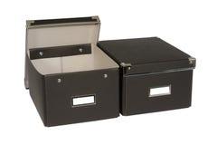 Μαύρα κουτιά Στοκ Εικόνες