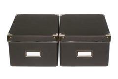 Μαύρα κουτιά Στοκ εικόνες με δικαίωμα ελεύθερης χρήσης