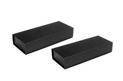 Μαύρα κουτιά Στοκ Φωτογραφίες