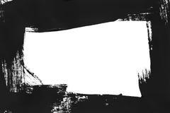 μαύρα κτυπήματα βουρτσών Στοκ εικόνα με δικαίωμα ελεύθερης χρήσης