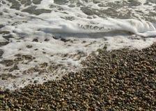μαύρα κύματα της Ουκρανίας θάλασσας χερσονήσων της Κριμαίας Ουκρανία Στοκ φωτογραφία με δικαίωμα ελεύθερης χρήσης