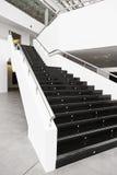 Μαύρα μαρμάρινα σκαλοπάτια Στοκ φωτογραφία με δικαίωμα ελεύθερης χρήσης