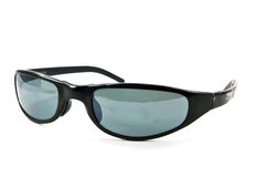 μαύρα παλαιά γυαλιά ηλίου Στοκ Φωτογραφίες