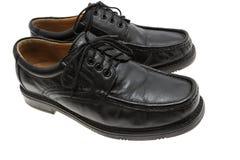 μαύρα παπούτσια Στοκ φωτογραφία με δικαίωμα ελεύθερης χρήσης