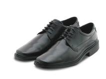 μαύρα παπούτσια Στοκ Εικόνες
