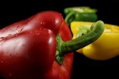 μαύρα πιπέρια τρία Στοκ φωτογραφία με δικαίωμα ελεύθερης χρήσης
