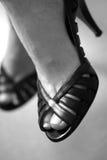 μαύρα τακούνια υψηλά στοκ φωτογραφία με δικαίωμα ελεύθερης χρήσης