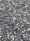 Μαύρα χαλίκια παραλιών λάβας Στοκ εικόνα με δικαίωμα ελεύθερης χρήσης