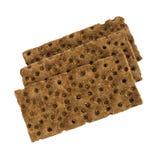 Μαύρα Crumbs ψωμιού που απομονώνονται Στοκ φωτογραφίες με δικαίωμα ελεύθερης χρήσης