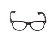 Μαύρα eyeglasses Στοκ εικόνα με δικαίωμα ελεύθερης χρήσης