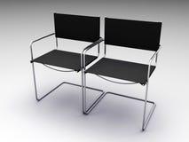μαύρες έδρες δύο διανυσματική απεικόνιση