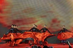 Μαύρες αποδόσεις τουλίπα-τραγουδιού και χορού Στοκ φωτογραφία με δικαίωμα ελεύθερης χρήσης