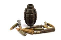 Βόμβα και σφαίρα Στοκ Εικόνες