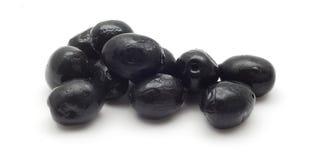 μαύρες ελιές Στοκ Φωτογραφία