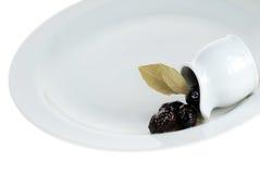 μαύρες ελιές Στοκ εικόνες με δικαίωμα ελεύθερης χρήσης