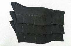 Μαύρες κάλτσες για το άτομο Στοκ φωτογραφία με δικαίωμα ελεύθερης χρήσης