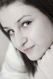 μαύρες λευκές νεολαίε&sigm Στοκ Εικόνες