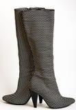 μαύρες μπότες γυναικείο s & Στοκ Εικόνες