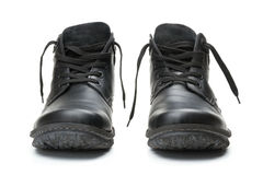 μαύρες μπότες Στοκ φωτογραφίες με δικαίωμα ελεύθερης χρήσης