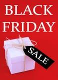 Μαύρες πωλήσεις Παρασκευής στοκ φωτογραφίες με δικαίωμα ελεύθερης χρήσης