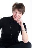 μαύρες χαμογελώντας γυναίκες κοστουμιών Στοκ Εικόνες