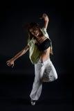 μαύρες χορεύοντας νεολ&a Στοκ Εικόνες