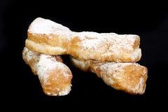 μαύρες doughnut συστροφές Στοκ Εικόνα