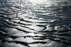 μαύρη άμμος Στοκ φωτογραφίες με δικαίωμα ελεύθερης χρήσης