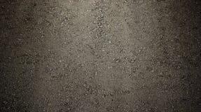 Μαύρη άσφαλτος με το σύντομο χρονογράφημα για την ανασκόπηση ή τη σύσταση Στοκ φωτογραφία με δικαίωμα ελεύθερης χρήσης