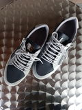 Μαύρη έκδοση 04 παπουτσιών Στοκ Εικόνα